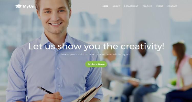 MyUni - Education & University HTML Template