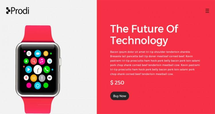 Prdoi - Single Product Website Tempalte