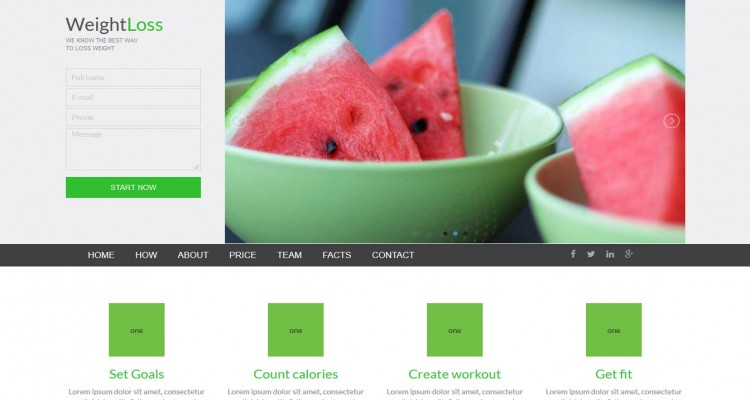 Smart - Gym and Fitness Bootstrap Landing Page