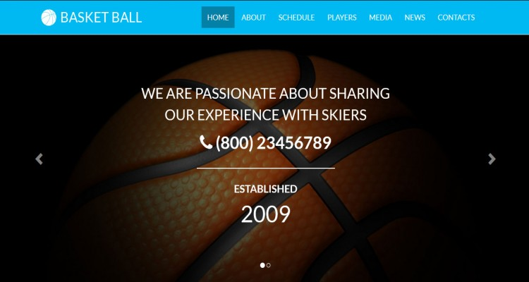 Basketball - Sports Club Responsive Template